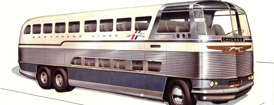 Raymond Loewy's Greyhound Bus